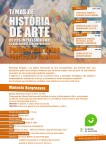 Cartaz Temas de História de Arte - Palácio das Artes Fábrica de Talentos